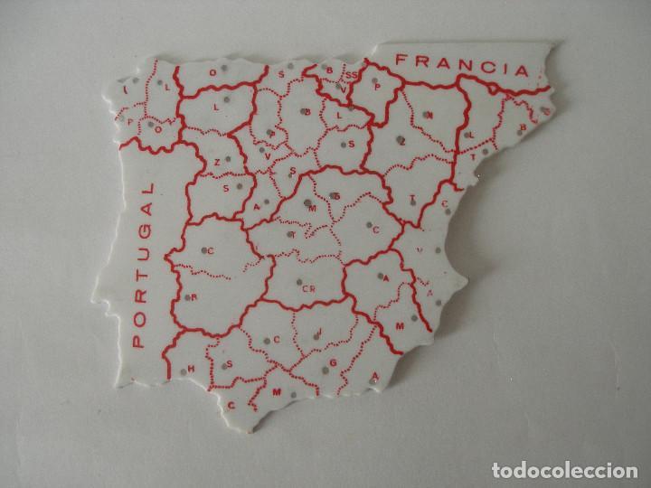 Escribanía: Plantillas escolares mapas de España años 70 - Foto 5 - 241628790