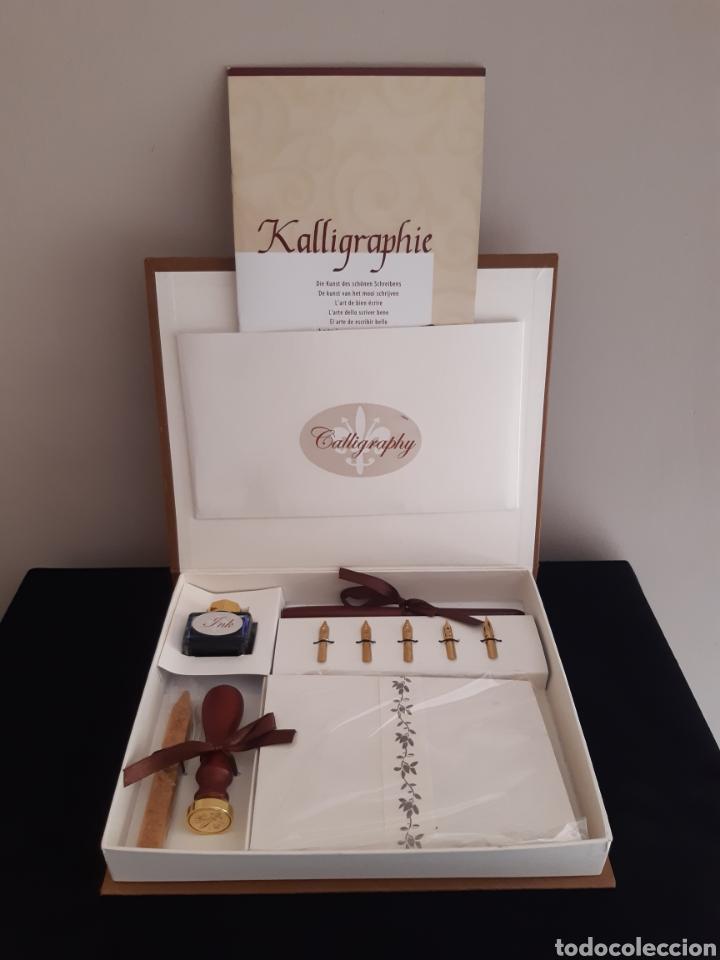 Escribanía: Set de caligrafia-30 piezas-Made in Germany. - Foto 4 - 243561515