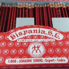 Escribanía: HISPANIA S.L.JOHANN SINDEL 1808-EXPORT Nº2-CAJA DE LÁPICES-2 PIEZAS-C.1960-COLECCIONISTAS-NOS-ESCASA. Lote 246125265