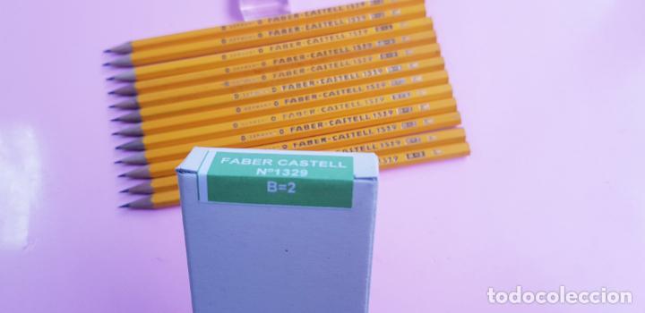 CAJA LÁPICES-FABER CASTELL 1329 B=2 SV-GERMANY-NOS-PRECINTADA-COLECCIONISTAS-VER FOTOGRAFÍAS (Plumas Estilográficas, Bolígrafos y Plumillas - Plumillas y Otros Elementos de Escribanía)