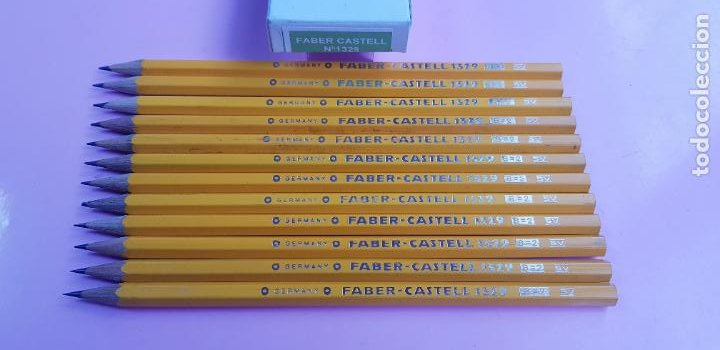 Escribanía: CAJA LÁPICES-FABER CASTELL 1329 B=2 SV-GERMANY-NOS-PRECINTADA-COLECCIONISTAS-VER FOTOGRAFÍAS - Foto 7 - 246789495