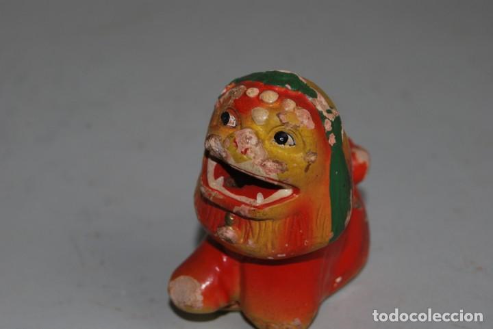 Escribanía: PRECIOSO SACAPUNTAS DE BARRO - DRAGÓN CHINO - AÑOS 40-50 - Foto 7 - 251427255