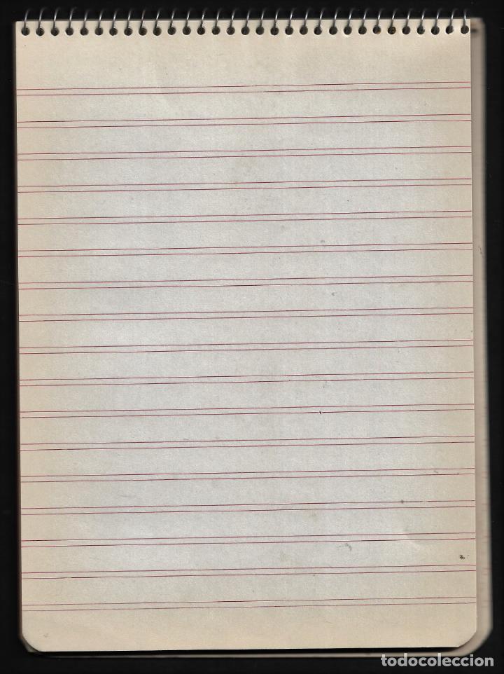 Escribanía: ANTIGUO BLOC DE TAQUIGRAFIA - CASA FONT - AÑOS 50 - Foto 2 - 257844825