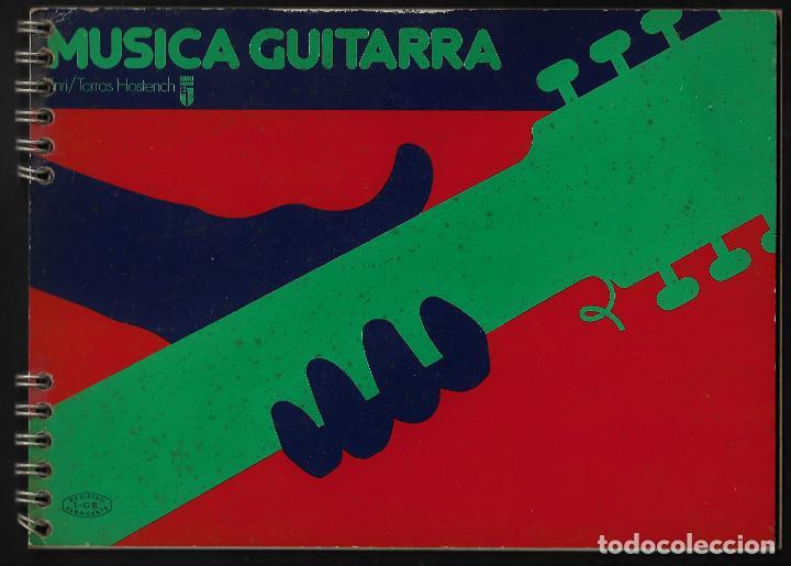 ANTIGUO BLOC DE MUSICA - PARA GUITARRA - ENRI (Plumas Estilográficas, Bolígrafos y Plumillas - Plumillas y Otros Elementos de Escribanía)