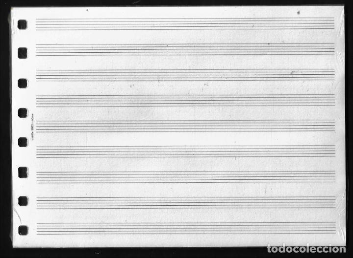 Escribanía: RECAMBIO MULTIFIN - CUARTO APAISADO - MODELO 3003 - MUSICA - Foto 2 - 257847760