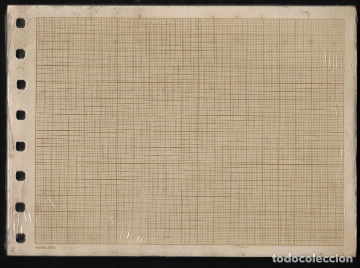 Escribanía: RECAMBIO MULTIFIN - CUARTO APAISADO - MODELO 3003 - MILIMETRADO - Foto 2 - 257848065