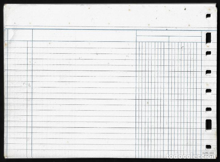 Escribanía: RECAMBIO MULTIFIN - CUARTO APAISADO - MODELO 3003 - DIARIO DOS COLUMNAS - Foto 2 - 257848495