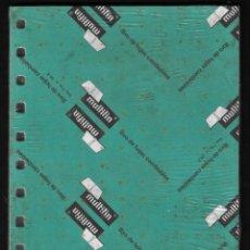 Escribanía: RECAMBIO MULTIFIN - CUARTO PLANTADO - MODELO 3002 - MILIMETRADO. Lote 257849300
