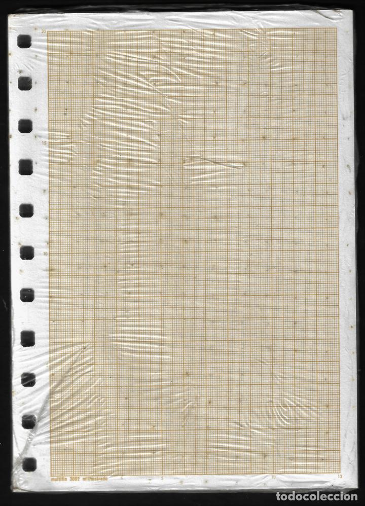 Escribanía: RECAMBIO MULTIFIN - CUARTO PLANTADO - MODELO 3002 - MILIMETRADO - Foto 2 - 257849300