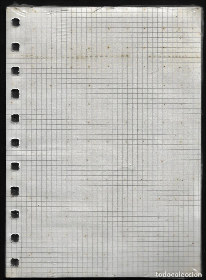 Escribanía: RECAMBIO MULTIFIN - CUARTO PLANTADO - MODELO 3002 - CUADRICULA 4 MM. - Foto 2 - 257850545