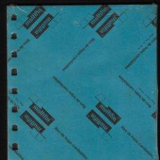 Escribanía: RECAMBIO MULTIFIN - CUARTO PLANTADO - MODELO 3002 - CUADRICULA 4 MM.. Lote 257850545
