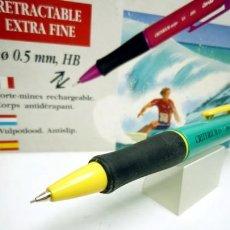 Escribanía: CONTÉ, LAPIZ PORTAMINAS 0,5 MM MOD. CRITERIUM SURFER 2855 CUERPO CON AGARRE CAUCHO VERDE - AMARILLO.. Lote 56019478