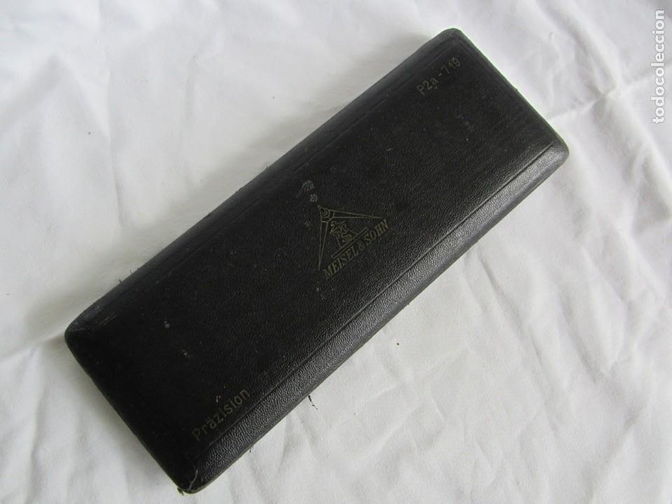 Escribanía: Antiguo juego de compás Meisel & Sohn - Foto 7 - 262589155