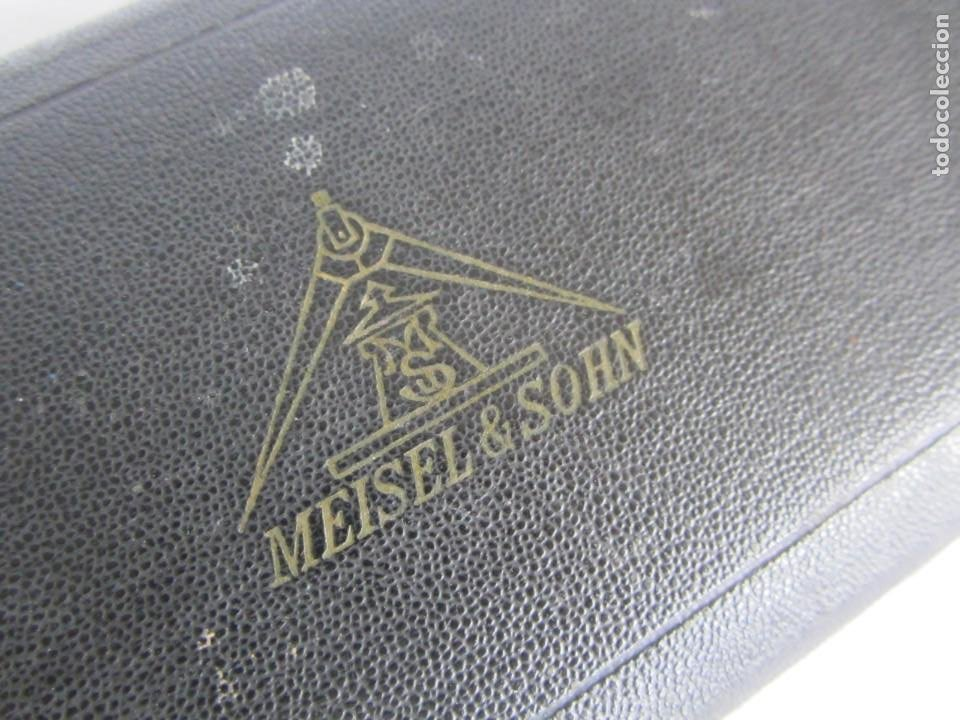 Escribanía: Antiguo juego de compás Meisel & Sohn - Foto 9 - 262589155