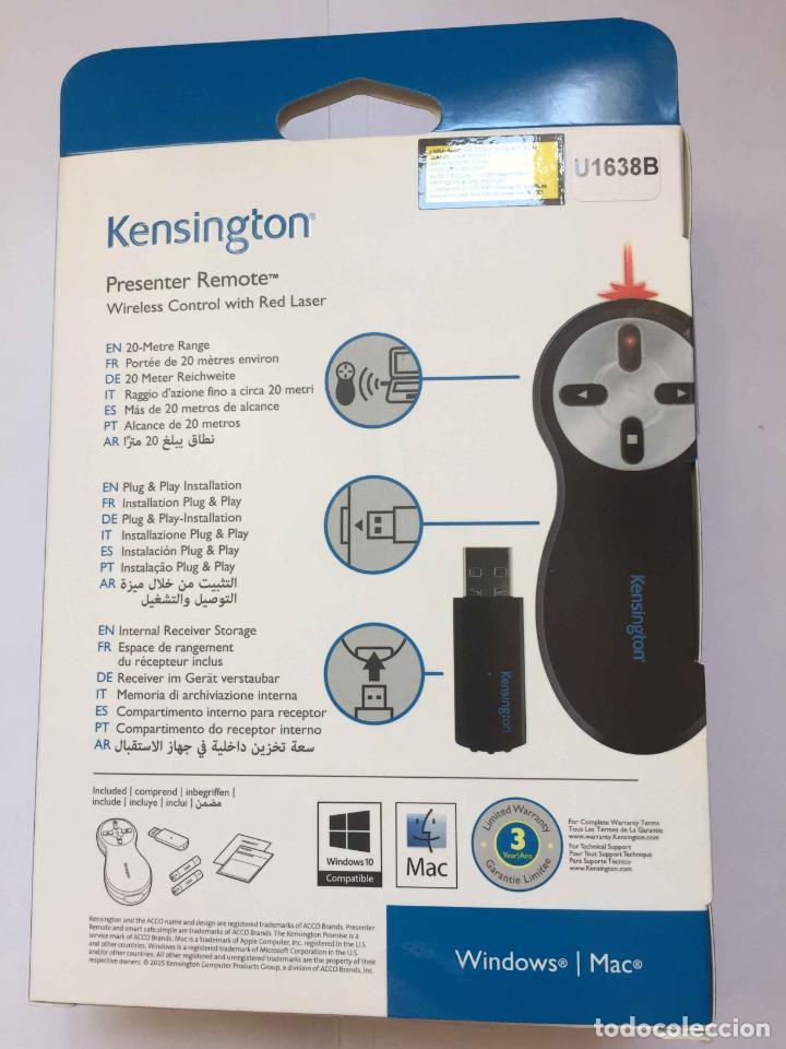 Escribanía: Puntero Láser (Red Laser) Kensington. China. Windows / Mac. Nuevo. - Foto 2 - 262822240