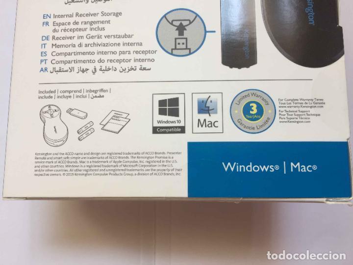 Escribanía: Puntero Láser (Red Laser) Kensington. China. Windows / Mac. Nuevo. - Foto 8 - 262822240