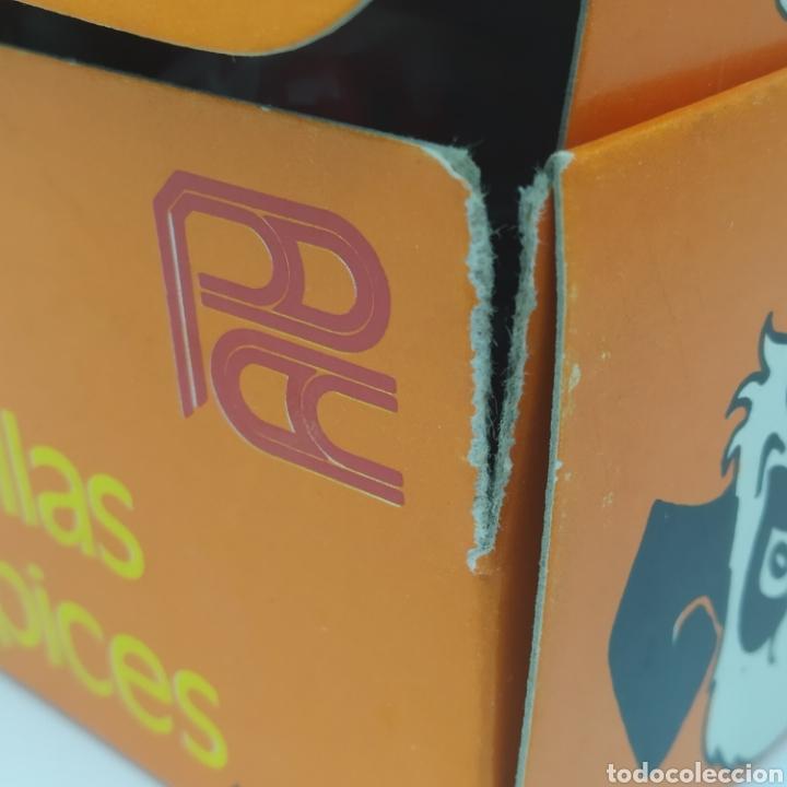 Escribanía: Caja con 12 sacapuntas Bombilla maquineta, años 70/80 fabricante Puntax, marca Booking - Foto 7 - 267651079