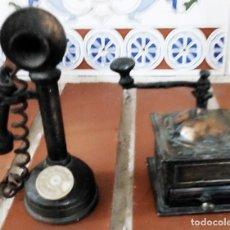 Scrivania: MOLINILLO CAFÉ Y TELÉFONO 2 SACAPUNTAS PLAYME NUMEROS 095 + 995. Lote 270651283