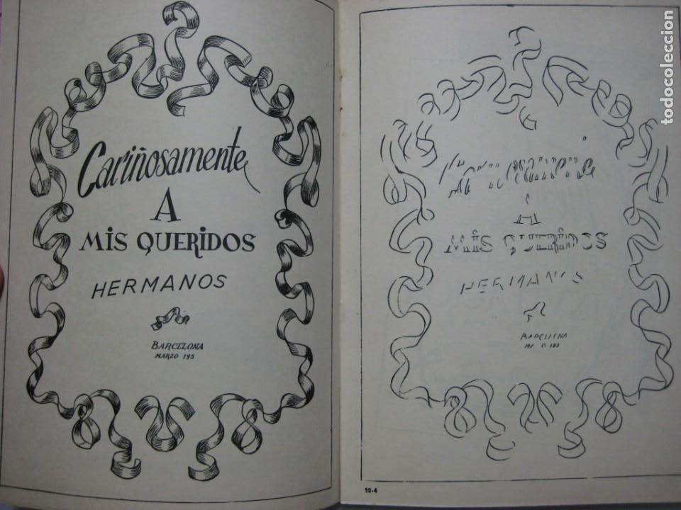 Escribanía: LOTE Nº 2 8 CUADERNOS DE CALIGRAFÍA, DIBUJO AÑOS 1940-50, PLUMILLAS ESCRITURA - Foto 5 - 275908928