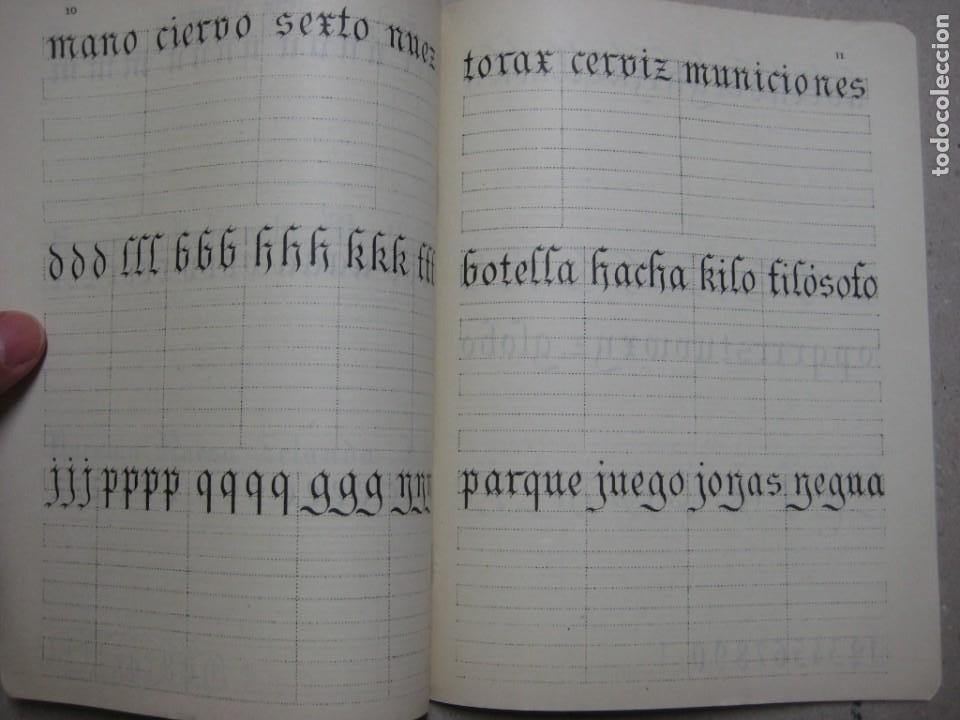 Escribanía: LOTE Nº 2 8 CUADERNOS DE CALIGRAFÍA, DIBUJO AÑOS 1940-50, PLUMILLAS ESCRITURA - Foto 9 - 275908928