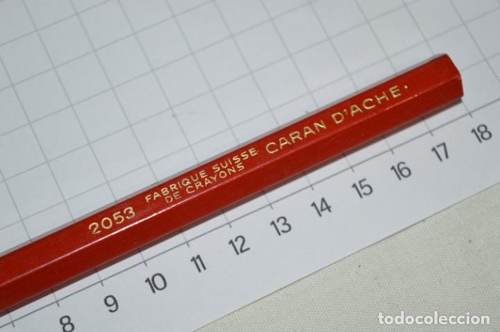 Escribanía: Lote CARAN DACHE / Lápiz rojo 2053, más 2 CAJAS / ESTUCHES, sin contenido ¡Mira fotos/detalles! - Foto 17 - 276024668