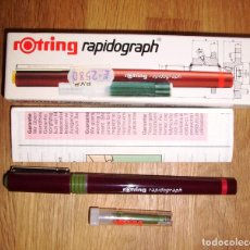 Escribanía: ESTILÓGRAFO ROTRING RAPIDOGRAPH 0,3 ART. 155 030. 0,30 MM. [155030]. Lote 277633563