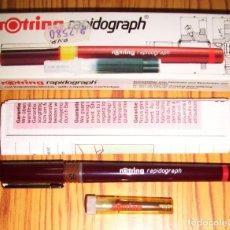 Escribanía: ESTILÓGRAFO ROTRING RAPIDOGRAPH 0,5 ART. 155 050. 0,50 MM. [155050]. Lote 277634183