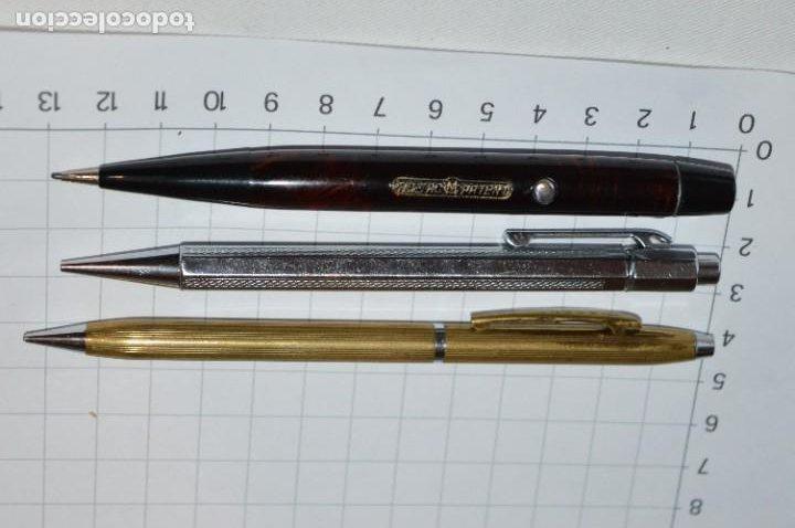 Escribanía: Lote 3 Lápices / Portaminas - TIC-TAC PATENT / KANOE y KANOE Peace -Años 50/60 ¡Mira fotos/detalles! - Foto 2 - 277642228