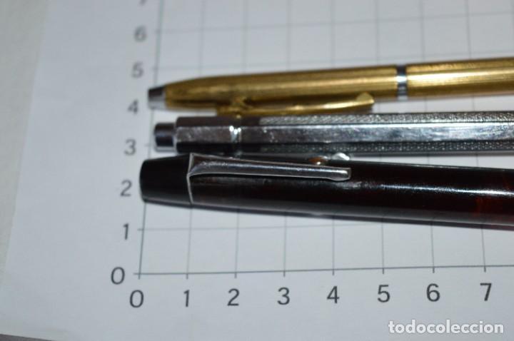 Escribanía: Lote 3 Lápices / Portaminas - TIC-TAC PATENT / KANOE y KANOE Peace -Años 50/60 ¡Mira fotos/detalles! - Foto 3 - 277642228