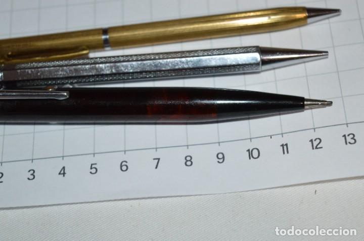 Escribanía: Lote 3 Lápices / Portaminas - TIC-TAC PATENT / KANOE y KANOE Peace -Años 50/60 ¡Mira fotos/detalles! - Foto 4 - 277642228