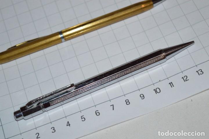 Escribanía: Lote 3 Lápices / Portaminas - TIC-TAC PATENT / KANOE y KANOE Peace -Años 50/60 ¡Mira fotos/detalles! - Foto 9 - 277642228