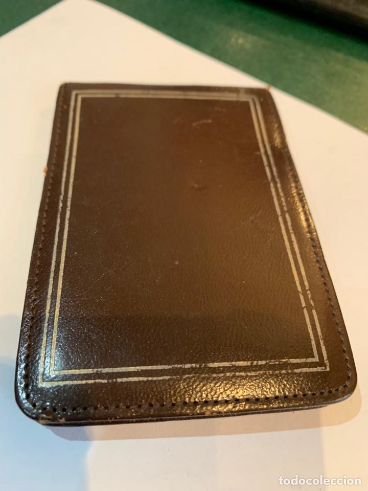 Escribanía: Antigua libreta Piel y portaminas tipo Cross - Foto 4 - 279362763