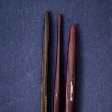 Scrivania: LOTE 3 PLUMINES PLUMIERES PORTAPLUMAS LYRA BLEISTIFT AMERICAN PENCIL CO NY J.F. LYRA 16-17CMS. Lote 281068008