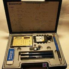 Estilográficas antiguas, bolígrafos y plumas: PRACTICO MALETIN STAEDTLER DE ESTILOGRAFOS DE PRECISION PARA DIBUJO TECNICO.NUEVO. Lote 21384097