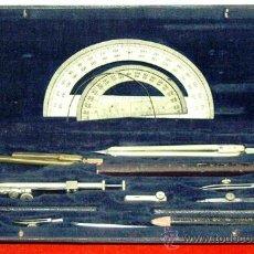 Estilográficas antiguas, bolígrafos y plumas: JUEGO DE COMPAS. Lote 70583243