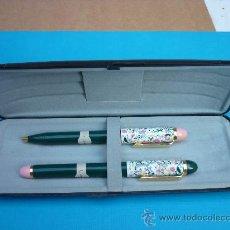 Estilográficas antiguas, bolígrafos y plumas: JUEGO DE PLUMA Y BOLIGRAFO CHAPMAN - SIN USAR.. Lote 86434582