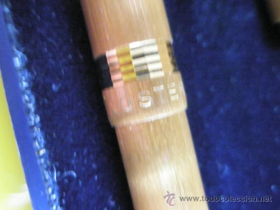Estilográficas antiguas, bolígrafos y plumas: 9085/JUEGO-PLUMA+BOLIGRAFO-LOSTER-ORO-CAJA-nos-ver fotos. - Foto 5 - 31818577