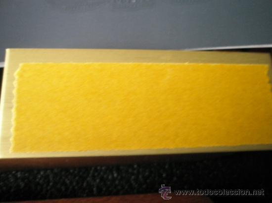 Estilográficas antiguas, bolígrafos y plumas: JUEGO-PLUMA+BOLÍGRAFO-PARKER DUOFOLD CENTENNIAL-BLUE MAROON-CAJAS-PLACA-PAPELES-PERFECTO. - Foto 13 - 157494240
