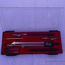 Estilográficas antiguas, bolígrafos y plumas: ESTUCHE DE COMPAS . Lote 36390025