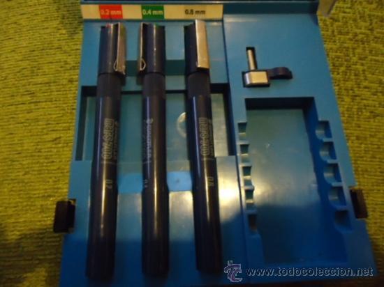 Estilográficas antiguas, bolígrafos y plumas: CONJUNTO staedtler mars - 700, - Foto 8 - 37429579