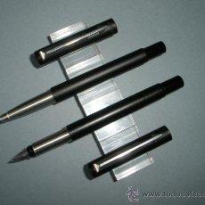 Estilográficas antiguas, bolígrafos y plumas: JUEGO DE PLUMA+ROLLER-PARKER VECTOR-NEGRO MATE-.. Lote 37522758