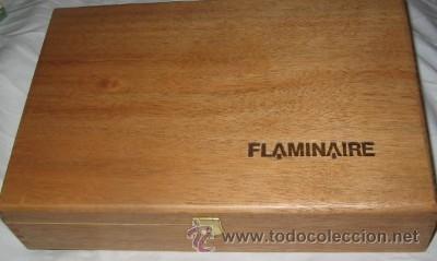 Estilográficas antiguas, bolígrafos y plumas: ESTUCHE FLAMINAIRE CON PLUMA, BOLÍGRAFO Y TINTERO - Foto 4 - 39658330
