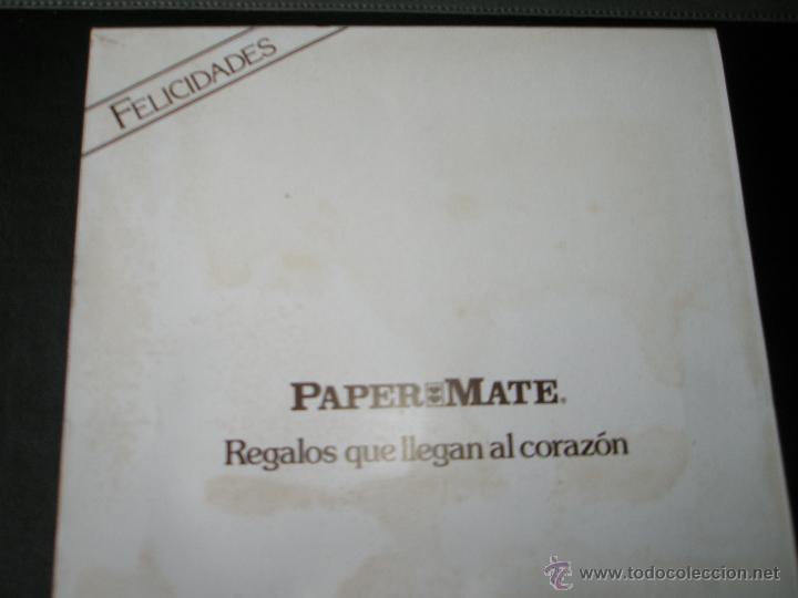 Estilográficas antiguas, bolígrafos y plumas: Aº JUEGO DE BOLÍGRAFO+PORTAMINAS+BILLETERA-PAPER MATE CHROME-ACERO CEPILLADO-NUEVO-CAJAS-PRECINTADO. - Foto 4 - 40921857