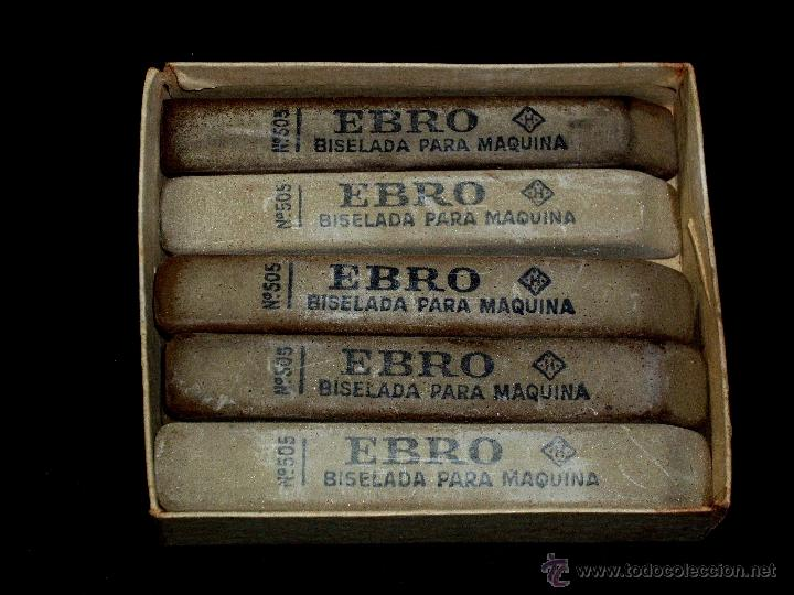 Estilográficas antiguas, bolígrafos y plumas: CAJA DE 12 GOMAS EBRO - Foto 6 - 42560921