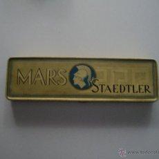 Estilográficas antiguas, bolígrafos y plumas: CAJA METALICA MARS STAEDTLER. Lote 43703557