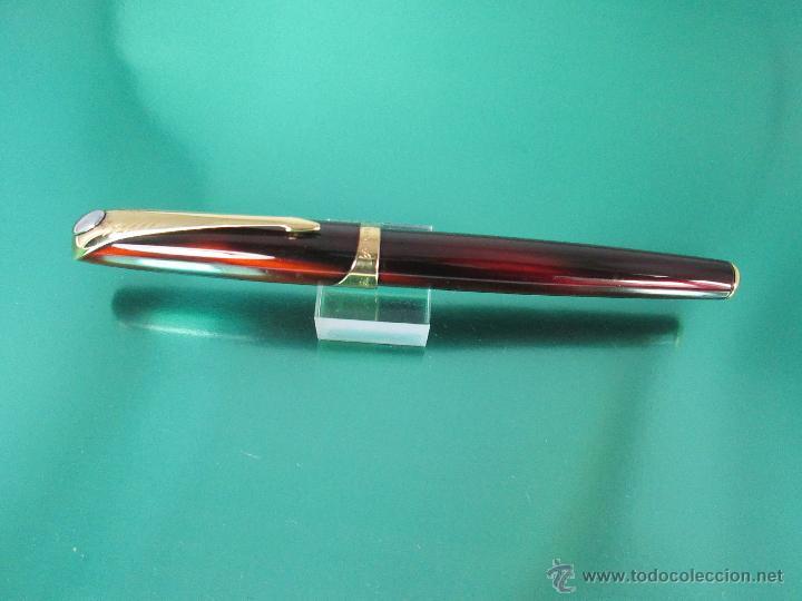 Estilográficas antiguas, bolígrafos y plumas: *769-Juego PLUMA+BOLÍGRAFO+PORTAMINAS-PARKER ELLIPSE-francia-RARO/ESCASO-2000-CAJA LU-CONSULTAR RED - Foto 23 - 47907790