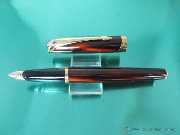 Estilográficas antiguas, bolígrafos y plumas: *769-Juego PLUMA+BOLÍGRAFO+PORTAMINAS-PARKER ELLIPSE-francia-RARO/ESCASO-2000-CAJA LU-CONSULTAR RED - Foto 26 - 47907790