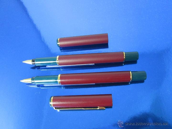 Estilográficas antiguas, bolígrafos y plumas: 849/JUEGO-PLUMA+ROLLER-PARKER 88/RIALTO-UK-BURDEOS+ORO-VER FOTOS Y DESCRIPCIÓN - Foto 2 - 48147381