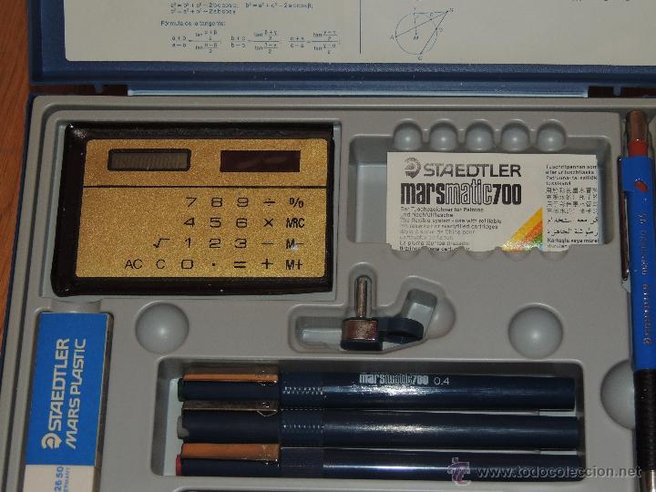 Estilográficas antiguas, bolígrafos y plumas: CAJA STAEDTLER TECHNISET, NUEVA SIN USAR - Foto 2 - 136253584