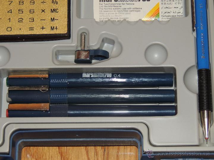 Estilográficas antiguas, bolígrafos y plumas: CAJA STAEDTLER TECHNISET, NUEVA SIN USAR - Foto 3 - 136253584